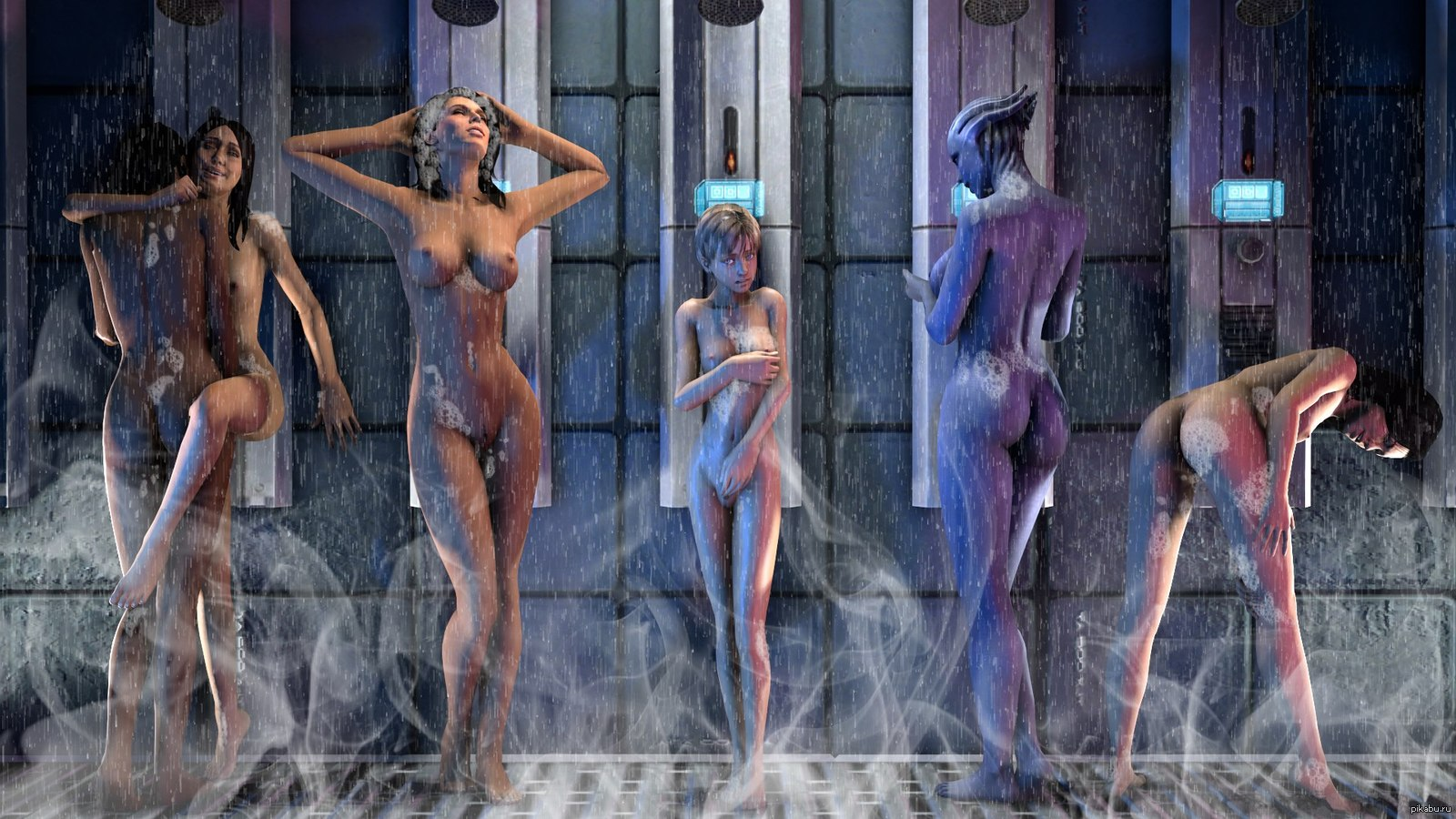 Mass effect nude game xxx toons