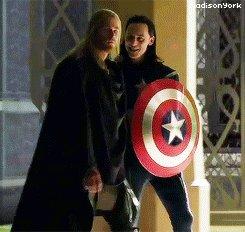 Капитан Асгард! доп. материалы к Тор 2: Царство тьмы