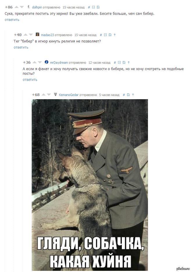 Смотри собачка какая хуйня