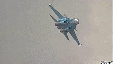Су-34 и эффект Прандтля-Глоерта