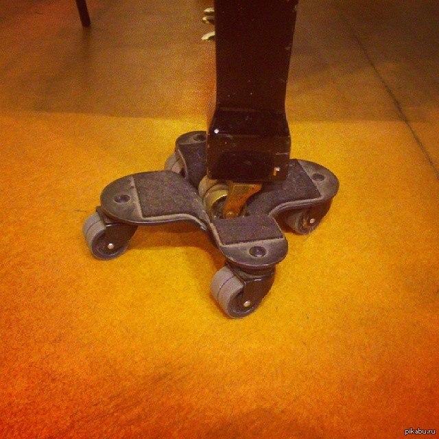 А это колесики для колесиков рояля теперь ты видел чуть больше