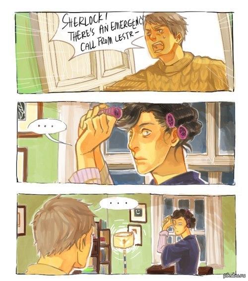 Тайна кудряшек Шерлока