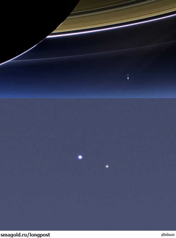 earth from saturn - 600×813