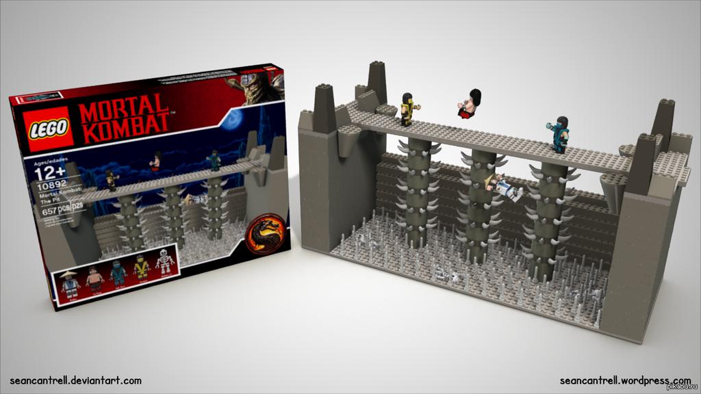 Лего мортал комбат скачать игру
