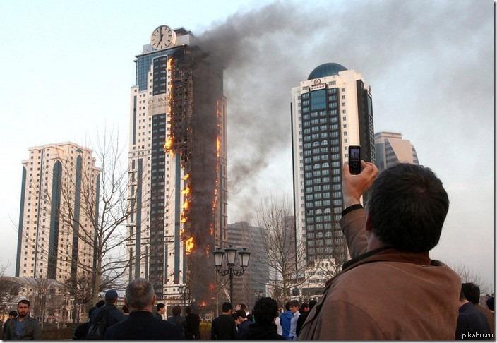 олимпийский огонь дошел до грозного? первая картинка по запросу в гугле ))))