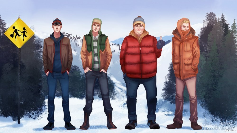 картинки с персонажами саус парка