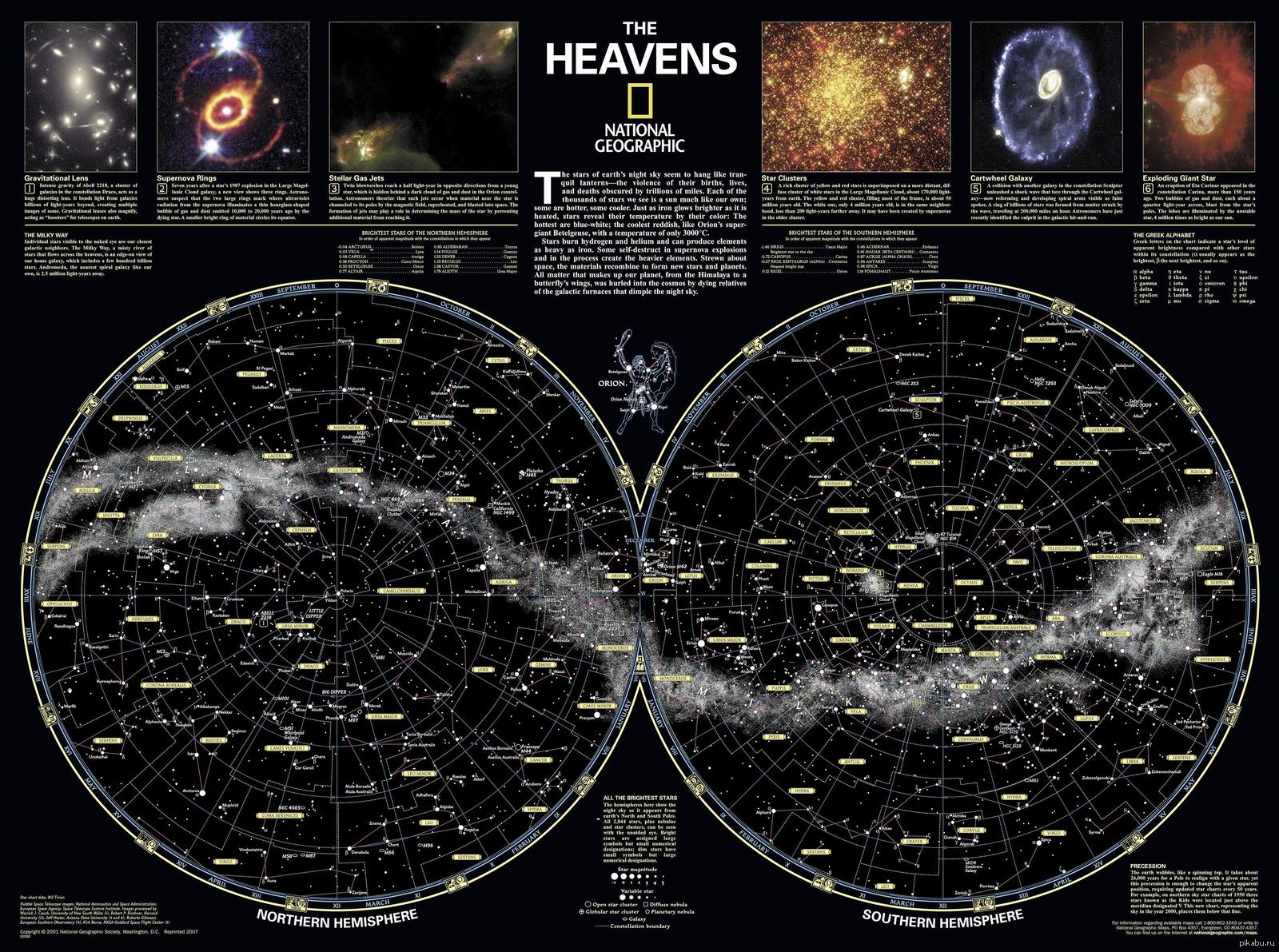 astronomy star charts - HD